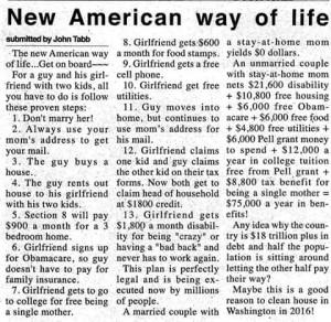 New American Way of Life by John Tabb
